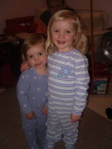 Molly and Lauryn a few years ago.